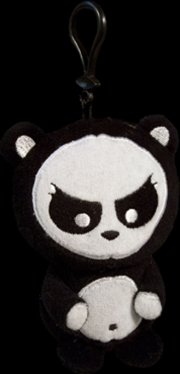Angry Panda - Clip-on Plush | Toy