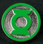 Green Lantern - Logo Colour Enamel Lapel Pin | Merchandise
