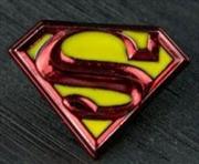 Superman - Logo Colour Enamel Lapel Pin | Merchandise