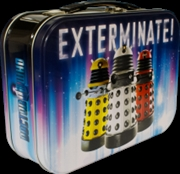 Doctor Who - Dalek 3-up Exterminate Lunchbox | Lunchbox