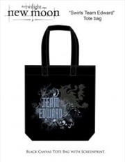 The Twilight Saga: New Moon - Bag Tote Team Edward Swirls