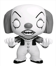 It - Pennywise Black & White US Exclusive Pop! Vinyl [RS] *PLEASE CHECK DESCRIPTION BEFORE ORDERING