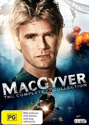 Macgyver Season 1-7  Boxset  (SANITY EXCLUSIVE)