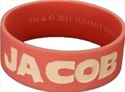 The Twilight Saga: Breaking Dawn - Part 1 - Bracelet Rubber Team Jacob | Apparel