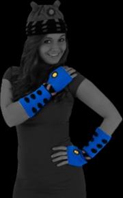 Doctor Who - Dalek Arm Warmers (Blue) | Apparel