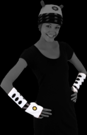 Doctor Who - Dalek Arm Warmers (White) | Apparel