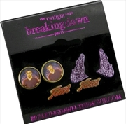 The Twilight Saga: Breaking Dawn - Part 1 - Earrings Team Jacob with Wolves | Apparel