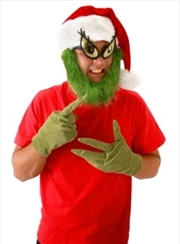 Dr Seuss - The Grinch Hat with Beard