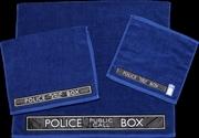Doctor Who - TARDIS 3 Piece Towel Set | Apparel