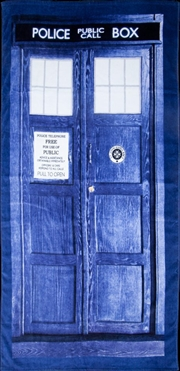 Doctor Who - TARDIS - Beach Towel | Apparel