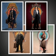 Fantastic Beasts and Where to Find Them - Art Print Set 3 | Collectable
