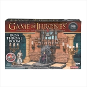Game of Thrones - Construction Set Iron Throne Room | Collectable