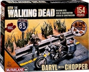 The Walking Dead - Daryl with Chopper Building Set | Collectable