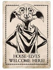 Harry Potter - Dobby Small Tin Sign