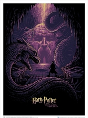 Harry Potter - & the Eyes of the Basilisk Art Print