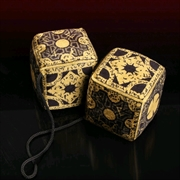 Hellraiser 3: Hell On Earth - Lament Configuration Fuzzy Dice
