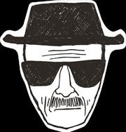 Breaking Bad - Heisenberg 80 x 84cm Rug