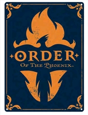 Harry Potter - Order of the Phoenix A3 Tin Sign