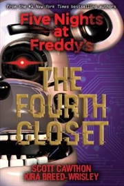 Five Nights at Freddy's #3: The Fourth Closet | Paperback Book