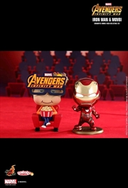 Avengers 3: Infinity War - Movbi & Iron Man Mark L Cosbaby Set