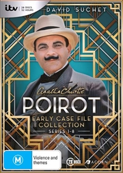 Agatha Christie - Poirot - Series 1-8 | Early Case File Collection