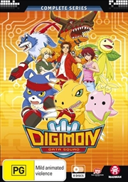 Digimon Data Squad - Eps 1-48 | Complete Series | DVD