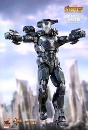 "Avengers 3: Infinity War - War Machine Mark IV Diecast 12"" 1:6 Scale Action Figure"