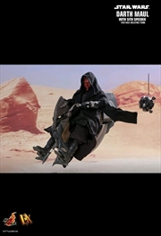 "Star Wars - Darth Maul with Sith Speeder Episode I ThePhantom Menace 12"" 1:6 Scale Action Figure"