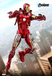 "Iron Man - Iron Man Mark VII Diecast 12"" 1:6 Scale Action Figure"