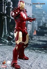 Iron Man - Mark III Deluxe 1:4 Scale Action Figure