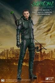 Arrow - Oliver Queen Green Arrow Deluxe 1:8 Scale Action Figure | Merchandise
