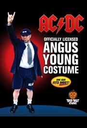 AC/DC - Angus Young Adult Costume | Apparel