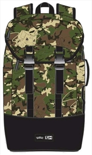 Pokemon - Camo Print Backpack