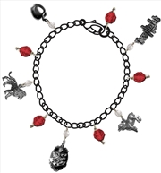 Twilight - Jewellery Charm Bracelet Red Jewel | Apparel