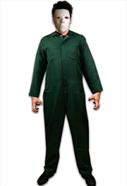 Halloween 2 - Coveralls Costume & Mask Combo Adult | Apparel