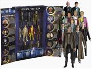 Doctor Who - 11 Doctors Action Figure Collectors Set