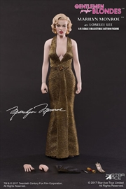 "Marilyn Monroe - Gold Dress 12"" 1:6 Scale Action Figure 