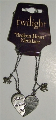 Twilight - Jewellery Broken Heart Necklace | Apparel