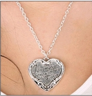 Twilight - Jewellery Heart Quote Necklace | Apparel