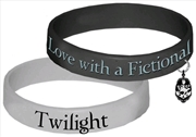 Twilight - Jewellery Rubber Bracelet - Fictional Characters | Apparel