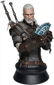 The Witcher 3: Wild Hunt - Geralt Playing Gwent Bust