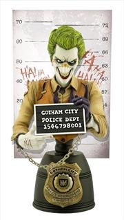 Batman - Joker Mugshot Bust