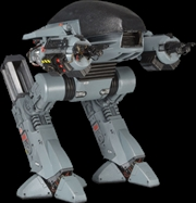 Ed 209 Figure With Sound
