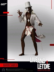"James Bond: Live and Let Die - Baron Samedi 12"" 1:6 Scale Action Figure"
