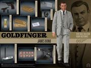 """James Bond: Goldfinger - James Bond (Connery) 12"""" 1:6 Scale Action Figure"""
