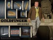 """James Bond: Goldfinger - Auric Goldfinger 12"""" 1:6 Scale Action Figure"""