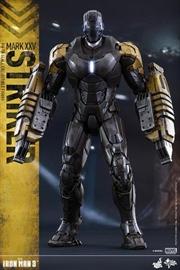 Iron Man 3 - Mark XXV Striker 1:6 Scale Action Figure | Merchandise