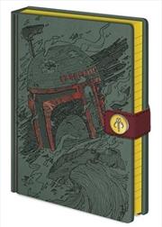 Star Wars Classic - Boba Fett A5 Notebook
