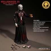 "Hellraiser 3: Hell On Earth - Pinhead Bloody Exclusive 12"" Action Figure 
