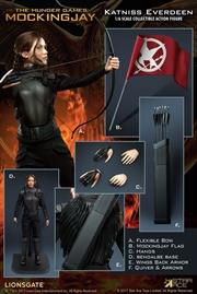"""Hunger Games - Katniss Everdeen Mockingjay 12"""" Action Figure"""
